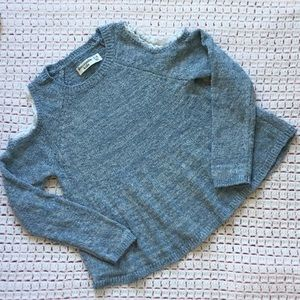 Abercrombie Kids Cold Shoulder Sweater